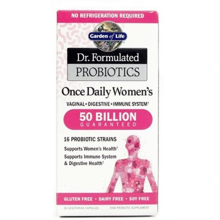 Probiótico Garden of Life Dr. Formulated Once Daily Women's 30 Cáps