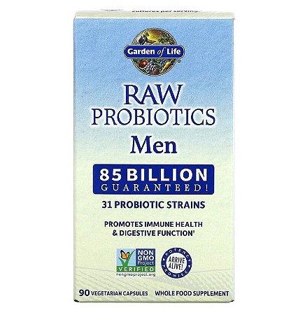 Probiótico Garden of Life RAW Probiotics Men 90 Caps