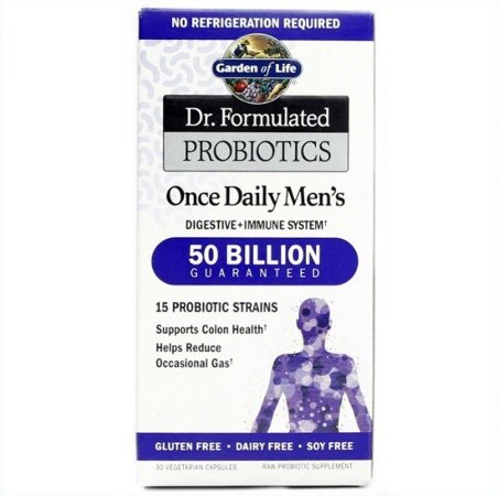 Probiótico Garden of Life Dr. Formulated Probiotics Once Daily Men's 30 Caps