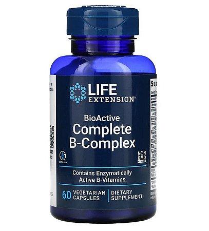 Vitamina Complexo B Life Extension Complete 60 Cápsulas