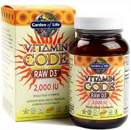 Vitamina D Garden of Life 2000 IU + Probiótico