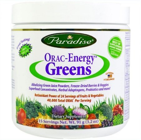 Alimento Verde Paradise Orac-Energy 91 Gramas