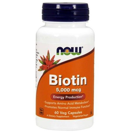 Biotina Now Foods Energy