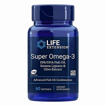 Óleo de Peixe Life Extension Omega 3 Super