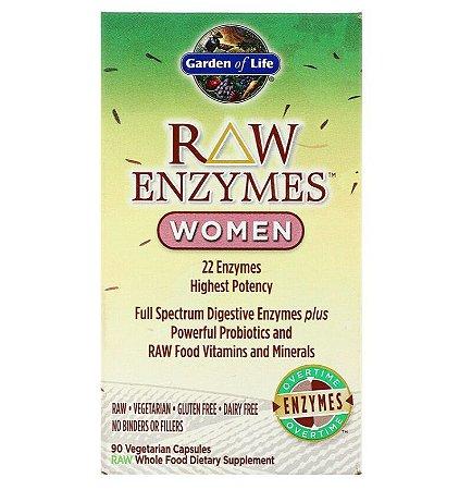 Enzimas Garden of Life RAW Enzymes Women 90 Caps