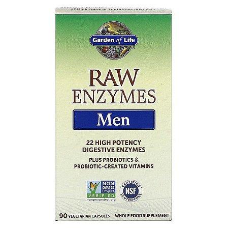 Enzimas Garden of Life RAW Enzymes Men 90 Caps