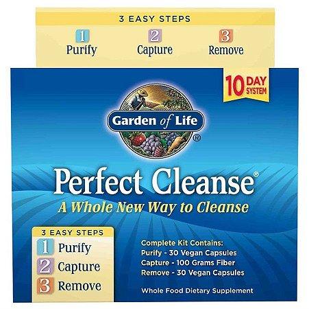 Detox Garden Of Life Perfect Cleanse 3 Etapas