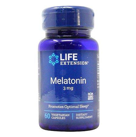 Melatonin Life Extension 3mg 60 caps
