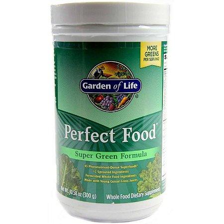Alimento Verde Garden of Life Perfect Food 300 Gramas