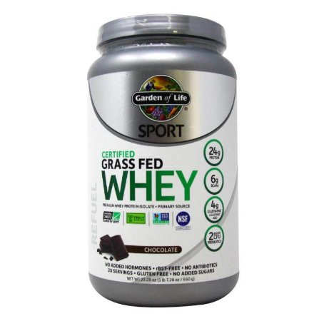 Whey Protein Garden of Life Sport Chocolate 660 Gramas