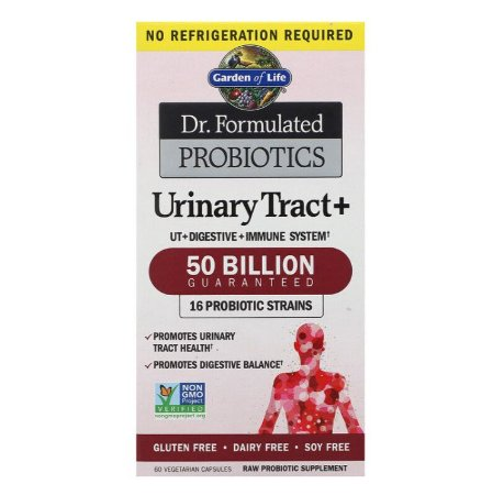 Probiotico Garden of Life Dr. Formulated Urinary Tract + 60 caps