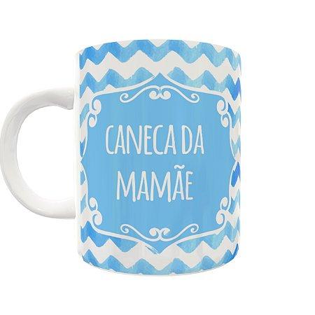 Caneca da Mamãe Onda Azul