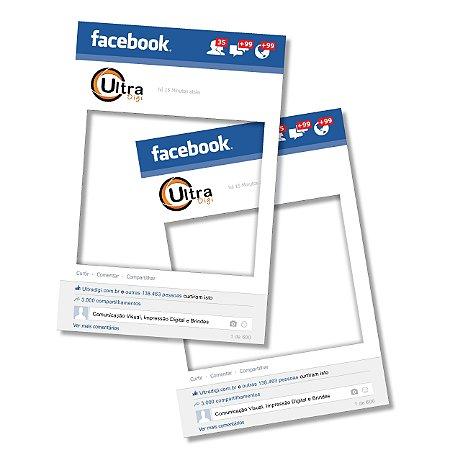 Placa de Facebook