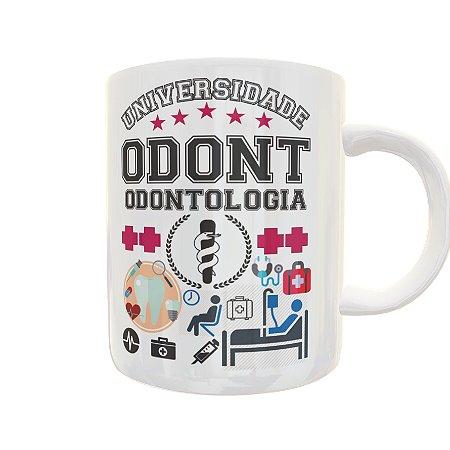 Caneca Universidade Odontologia