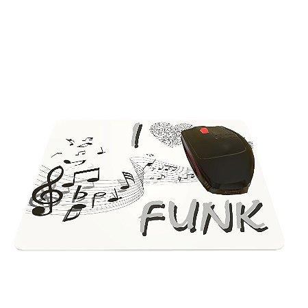 Mouse Pad I Love Funk