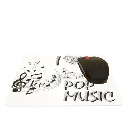 Mouse Pad I Love Pop Music