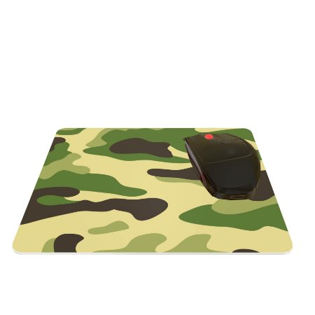 Mouse Pad Abstrato Camuflado