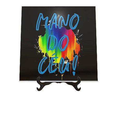 Azulejo Decorativo Mano do Céu 15x15cm