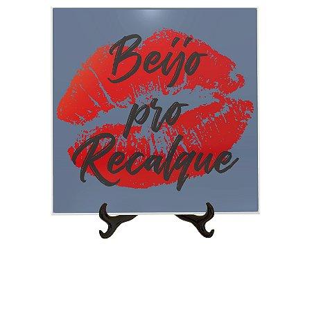 Azulejo Decorativo Beijo Pro Recalque 15x15cm