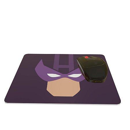 Mouse Pad Colorido Herói Roxo