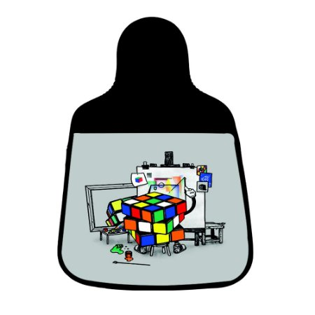 Lixeira Para Carro Ateliê Cubo Mágico