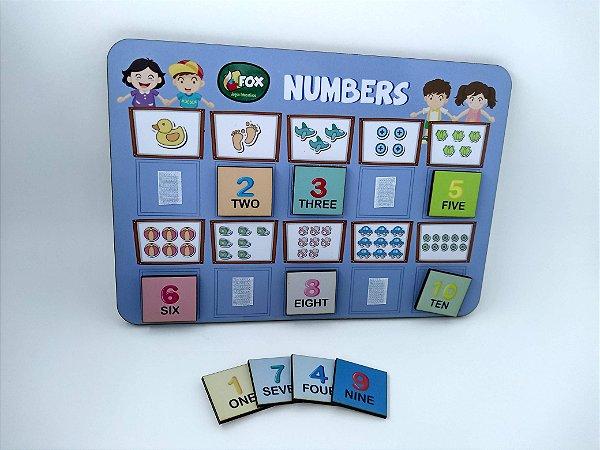 Jogo dos Números - INGLÊS