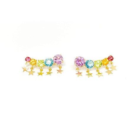 Brinco Rainbow Stars