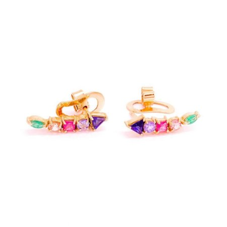 Brinco Rainbow Earcuff