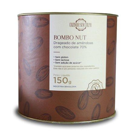 Drageado de Amêndoa Bombo Nut - Lata 150g