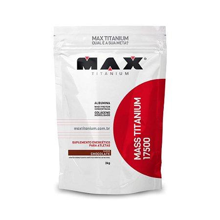 Hipercalórico Mass Titatium - 3kg (Sabor Chocolate) Max Titanium