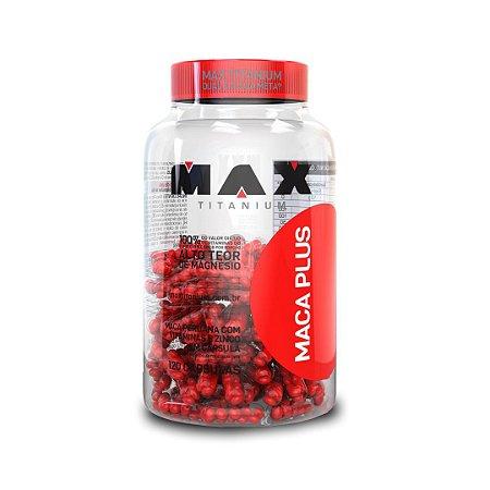 Maca Peruana Plus Pote c/120 cápsulas - Max Titanium