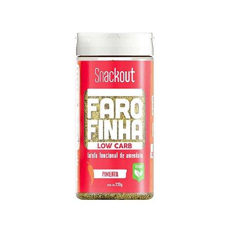 Farofa LowCarb sabor Pimenta (220g) Snackout
