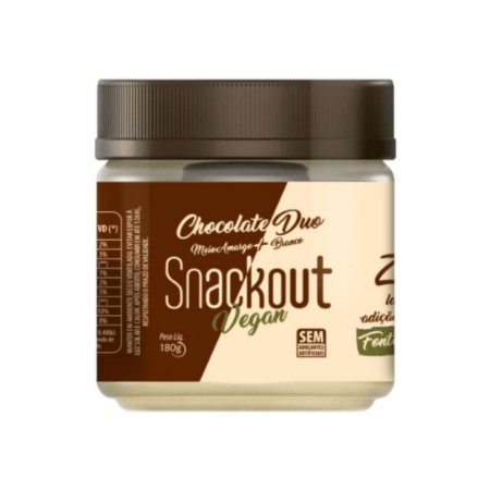 Doce Vegano Chocolate Duo (180g) Snackout