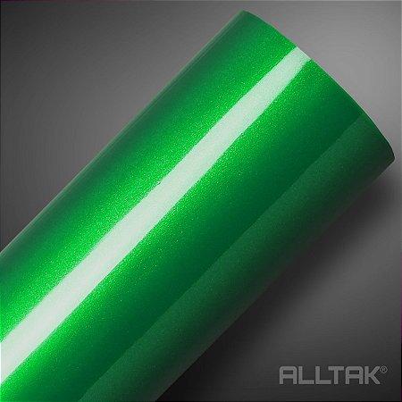 VINIL ALLTAK ULTRA GREEN METALLIC 1,38MT X 1,00MT