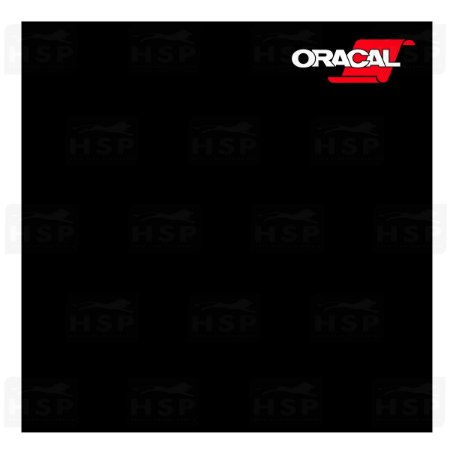 VINIL ORACAL 651 BLACK 070 FOSCO 1,26MT X 1,00MT