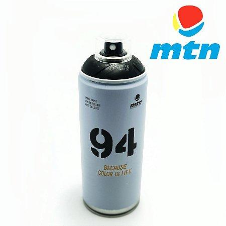 TINTA SPRAY MONTANA 94 400ml PRETO