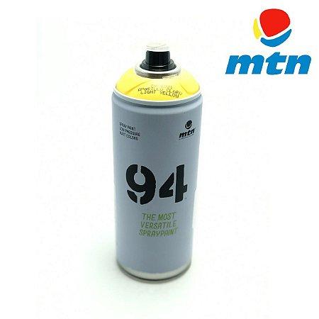 TINTA SPRAY MONTANA 94 400ml AMARELO CLARO