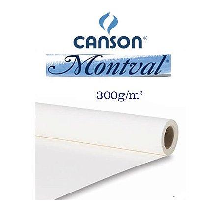 PAPEL CANSON MONTVAL 300GR 1,00MTX1,50MT