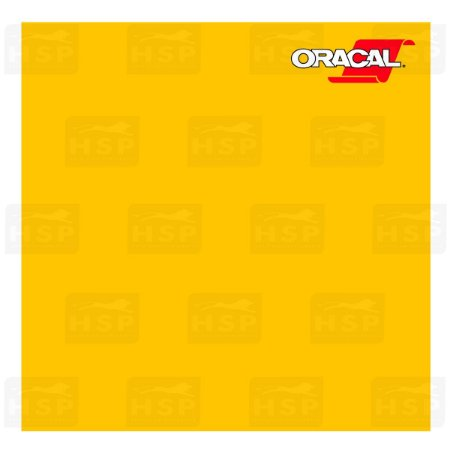 VINIL ORACAL 651 YELLOW 021 1,26MT X 1,00MT