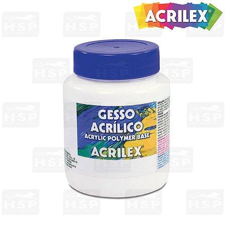 GESSO ACRÍLICO ACRILEX 250ML