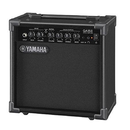 Amplificador para Guitarra GA-15 II Preto Yamaha