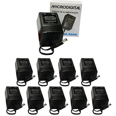 Kit 10 Fontes para Pedaleira MA-9500 Bivolt Automática