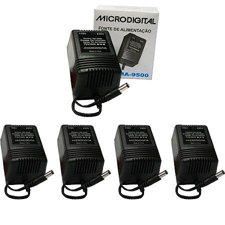 Kit 5 Fontes para Pedaleira MA-9500 Bivolt Automática