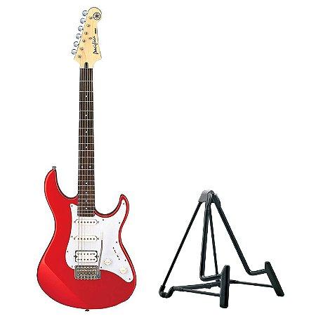 Kit Guitarra Pacifica 012 Yamaha + Suporte de Chão Konig & Meyer