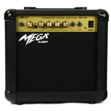 Amplificador Para Guitarra ML-20 Mega