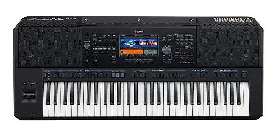 Teclado Arranjador Yamaha Psr-SX700 Com Fonte Bivolt