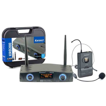 Karsect KRD200SH | Microfone sem fio HeadSet