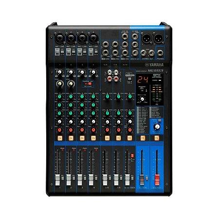 Yamaha MG10XUF | Mixer 10 canais (USB e Efeitos)
