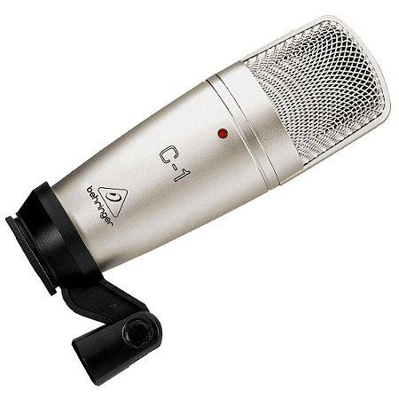 Behringer C1 | Microfone Condensador de Estudio