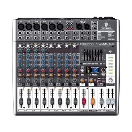 Behringer XENYX X1222USB | Mixer 12 canais com Efeitos